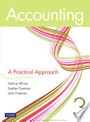 Accounting  A Practical Approach