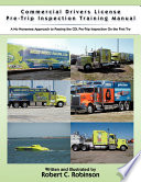 Commercial Drivers License Pre Trip Inspection Training Manual