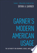 Garner s Modern American Usage