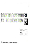 Controversies in Education