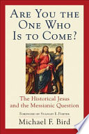 Are You the One Who Is to Come