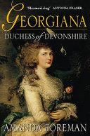 Georgiana, Duchess of Devonshire Book Cover