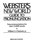 Webster s New World Guide to Pronunciation