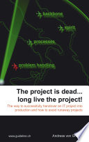 The project is dead     long live the project  Book PDF