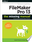 Filemaker Pro 13 The Missing Manual