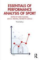Essentials of Performance Analysis in Sport: Third Edition