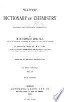 Watts' Dictionary of Chemistry