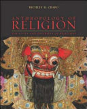 Anthropology of Religion That The Sole Use Of A