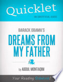 download ebook quicklet on barack obama's dreams from my father pdf epub