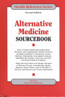 Alternative Medicine Sourcebook
