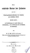 Die rechtliche Natur der Zehnten aus den Grundeigenthumsverhältnissen des römischen und frankischen Reichs historisch entwickelt