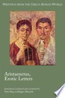 Aristaenetus  Erotic Letters