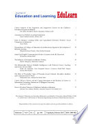 Journal of Education and Learning  EduLearn