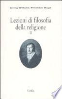 Lezioni di filosofia della religione