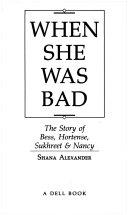 When She was Bad Book PDF