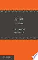 Isaiah 1–39 : contains the revised version text of isaiah...