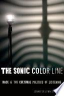 The Sonic Color Line : at least that is what...