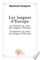 Les langues d'Europe