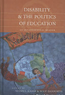 Disability   the politics of education