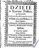 Dzieie w Koronie Polskiey