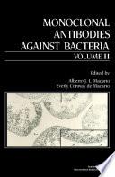 Monoclonal Antibodies Against Bacteria book