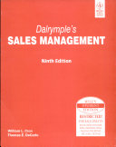 Dalrymple'S Sales Management, 9Th Ed