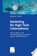 Marketing für High-Tech-Unternehmen