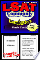 LSAT Test Prep Commonly Confused Words  Exambusters Flash Cards  Workbook 3 of 3