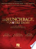 The Hunchback of Notre Dame  The Stage Musical Songbook Book PDF