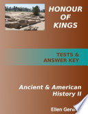 Honour of Kings Ancient and American History 2 PRINTED Test Packet   Answer Key