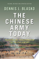The Chinese Army Today
