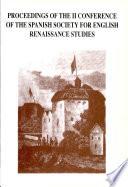 Actas Del II Congreso de la Sociedad Española de Estudios Renacentistas Ingleses