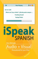 iSpeak Spanish Phrasebook  MP3 CD   Guide    The Ultimate Audio   Visual Phrasebook for Your iPod