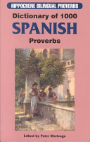 Dictionary of 1000 Spanish proverbs