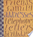 A Literary Address Book