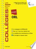 L'oesophage Du Cancereux Orl par Collège Français d'ORL
