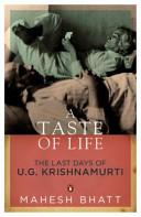 . A Taste of Life .