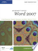 New Perspectives on Microsoft Office Word 2007, Comprehensive