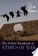 The Oxford Handbook of Ethics of War