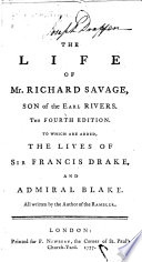 The Life of Mr  Richard Savage  Son of the Earl Rivers