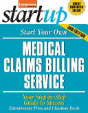Start Your Own Medical Claims Billing Service 3 E