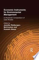 Economic Instruments for Environmental Management