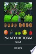 Palaeohistoria 53/54 (2011/2012) Of The Groningen Institute Of Archaeology