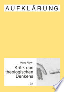 Kritik des theologischen Denkens