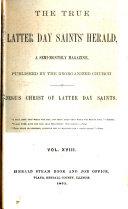 download ebook the true latter-day-saints\' herald pdf epub