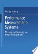 Performance Measurement Systeme
