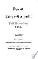 Chronik der Kriegs Ereignisse in der Stadt Hammelburg