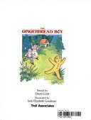 """""""The Gingerbread Boy"""" Cover"""