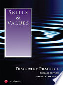 Skills   Values  Discovery Practice