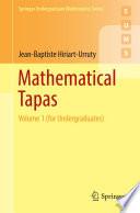 Mathematical Tapas book